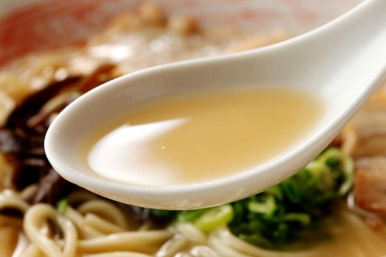 最後まで飲み干せるスープ
